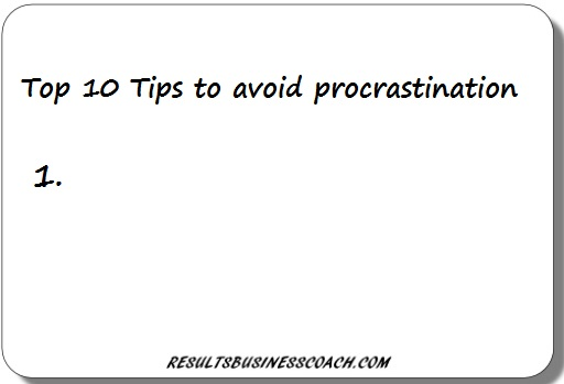 The magic solution to overcome procrastination (and get