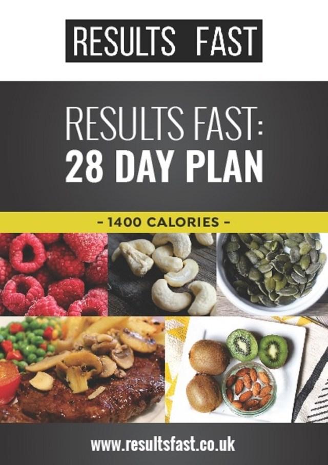 1400 calorie Cover