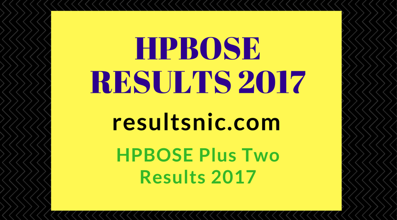 HPBOSE Plus Two Results 2017