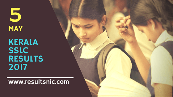 Kerala SSLC Exam Results 2017