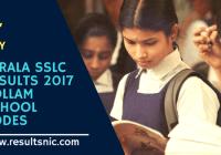 Kerala SSLC School Wise results Kollam District