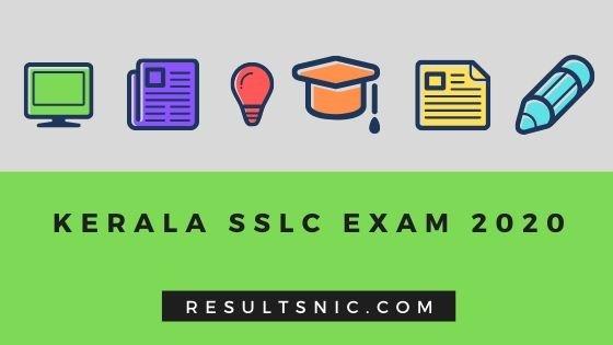 Kerala SSLC 2020 Exam