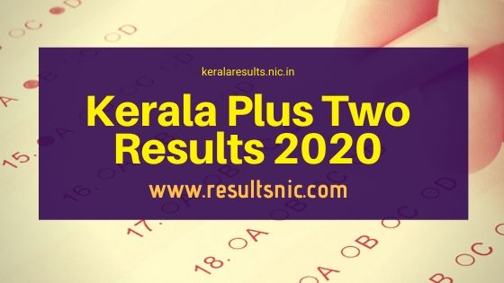 Kerala Plus Two Result 2020