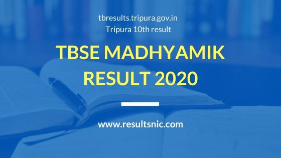 TBSE_Madhyamik_Results_2020