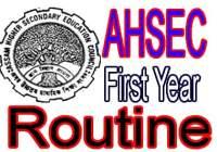 HS 1st Year Final Exam Routine 2020 Assam