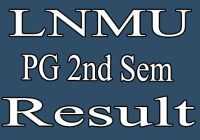 LNMU PG 2nd Semester Result 2020