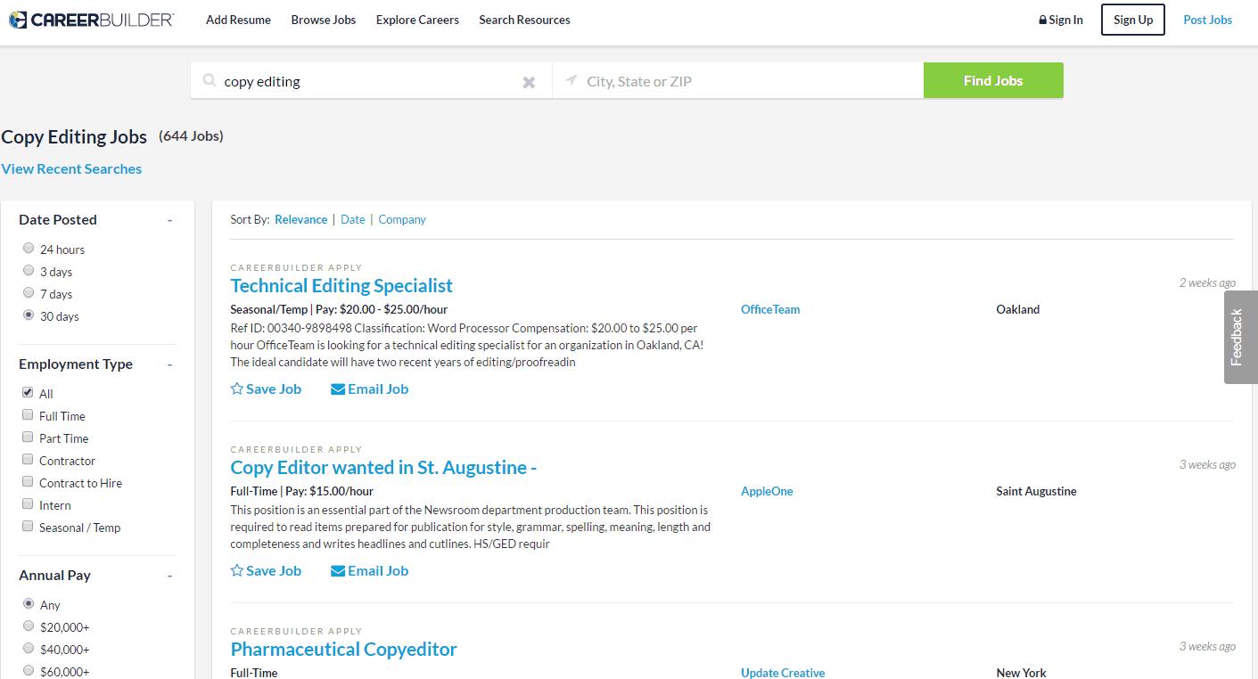 Top Websites For Posting Your Resume Online Resume