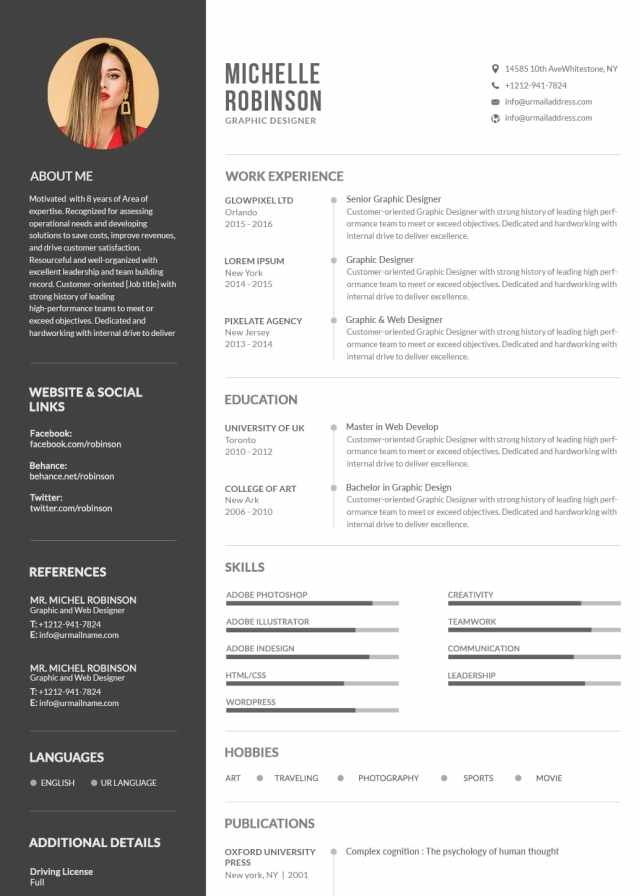 Original Resume Ideas: Sample Creative Resume  Resume Example