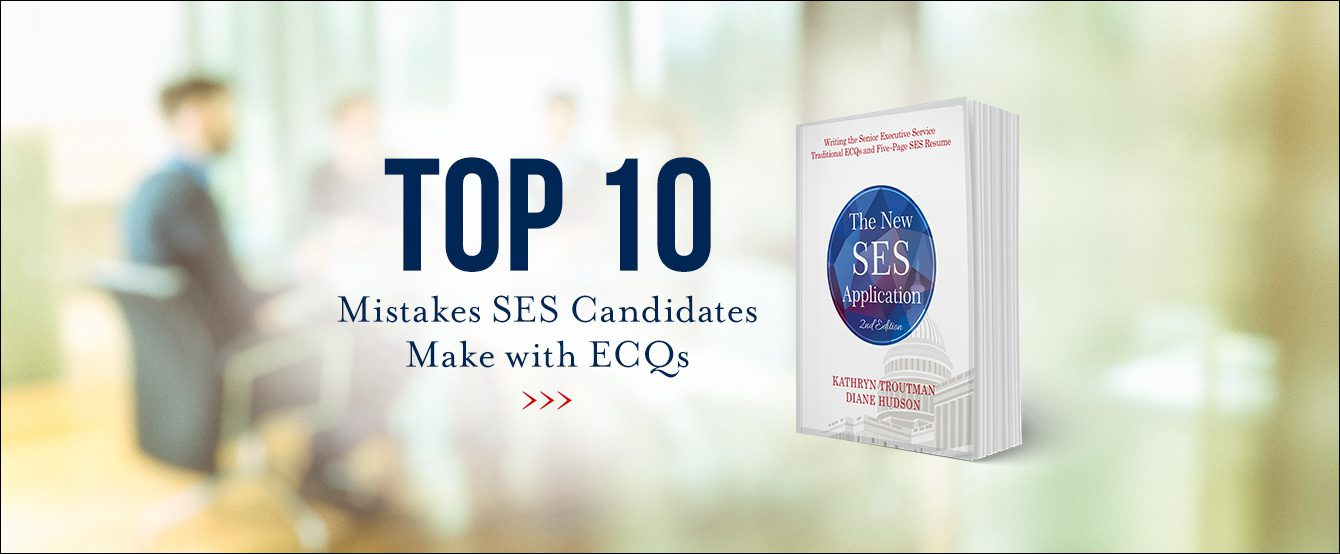 Top Ten Ecq Mistakes Resume Place
