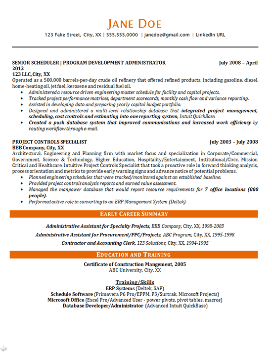 resume how to write a professional summary