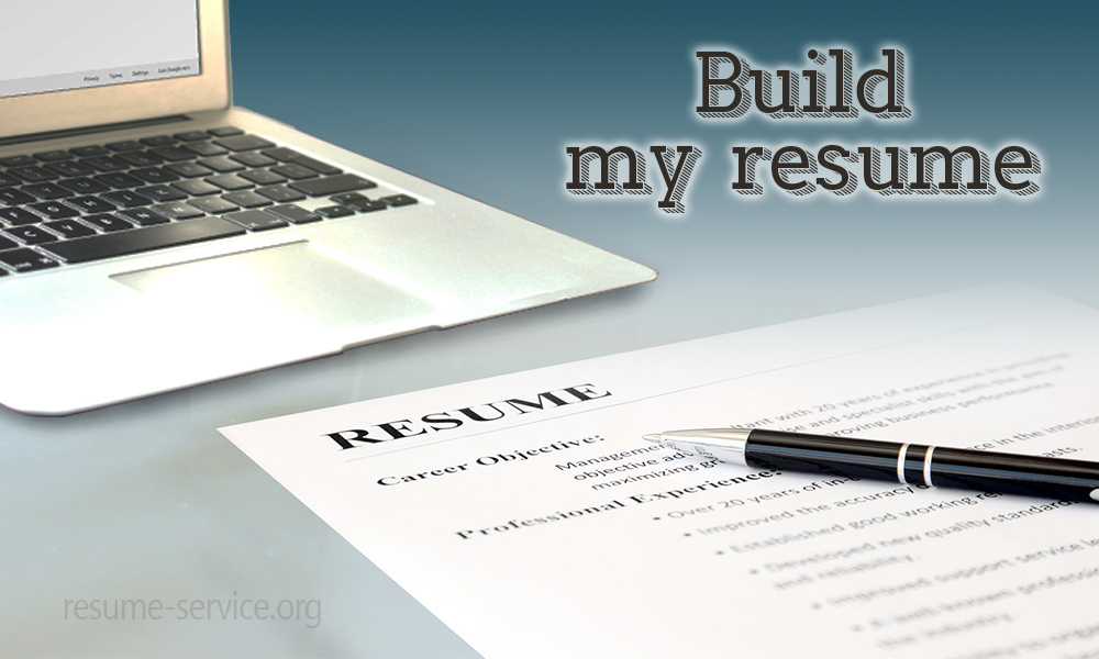 Build My Resume & Make It Special Resume Service Org