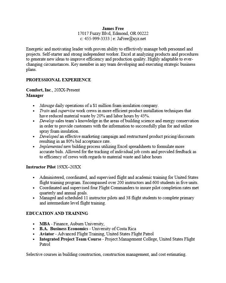 Resume Non Chronological Order What Is The Best Format Functional Template