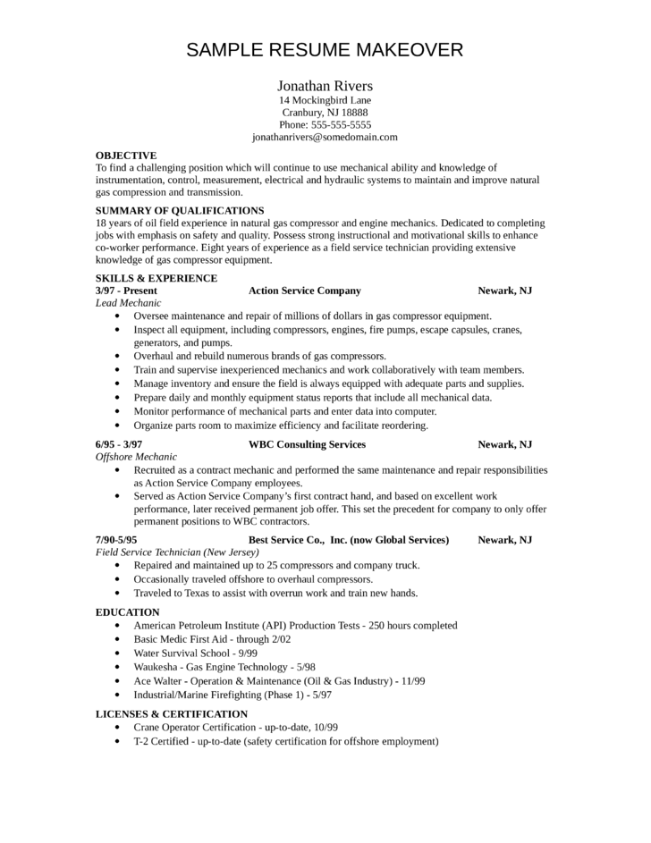 field service technician resume patient care technician job