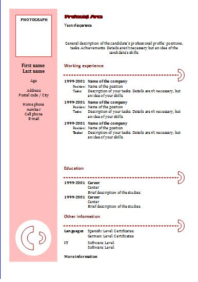 writing a great cv template