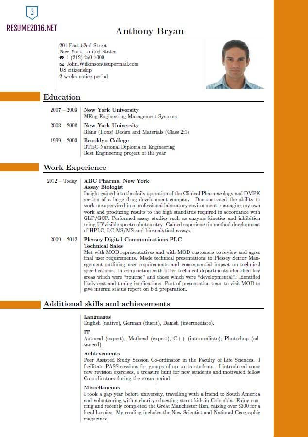 Best Resume Format 2016 Which One To Choose In 2016?