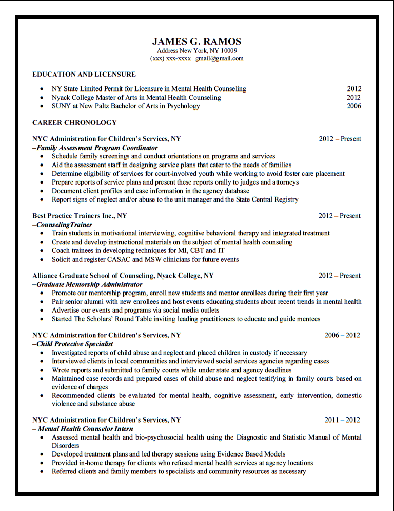 Cover Letter With Resume Samples Sample Resume Service