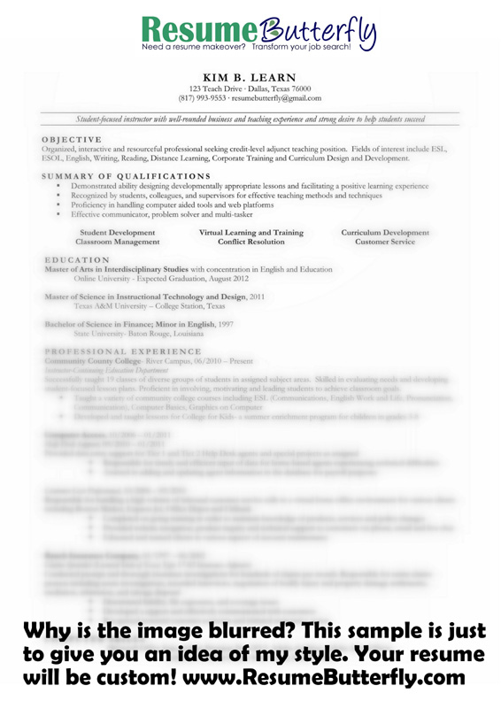 Before and After Resume Samples Archives  Resume
