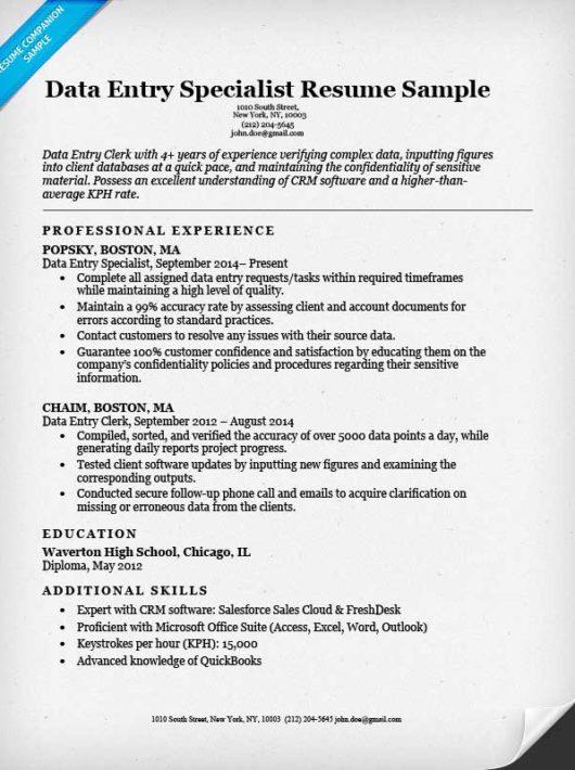 Data Analyst Resume Sample & Writing Tips Resume Companion