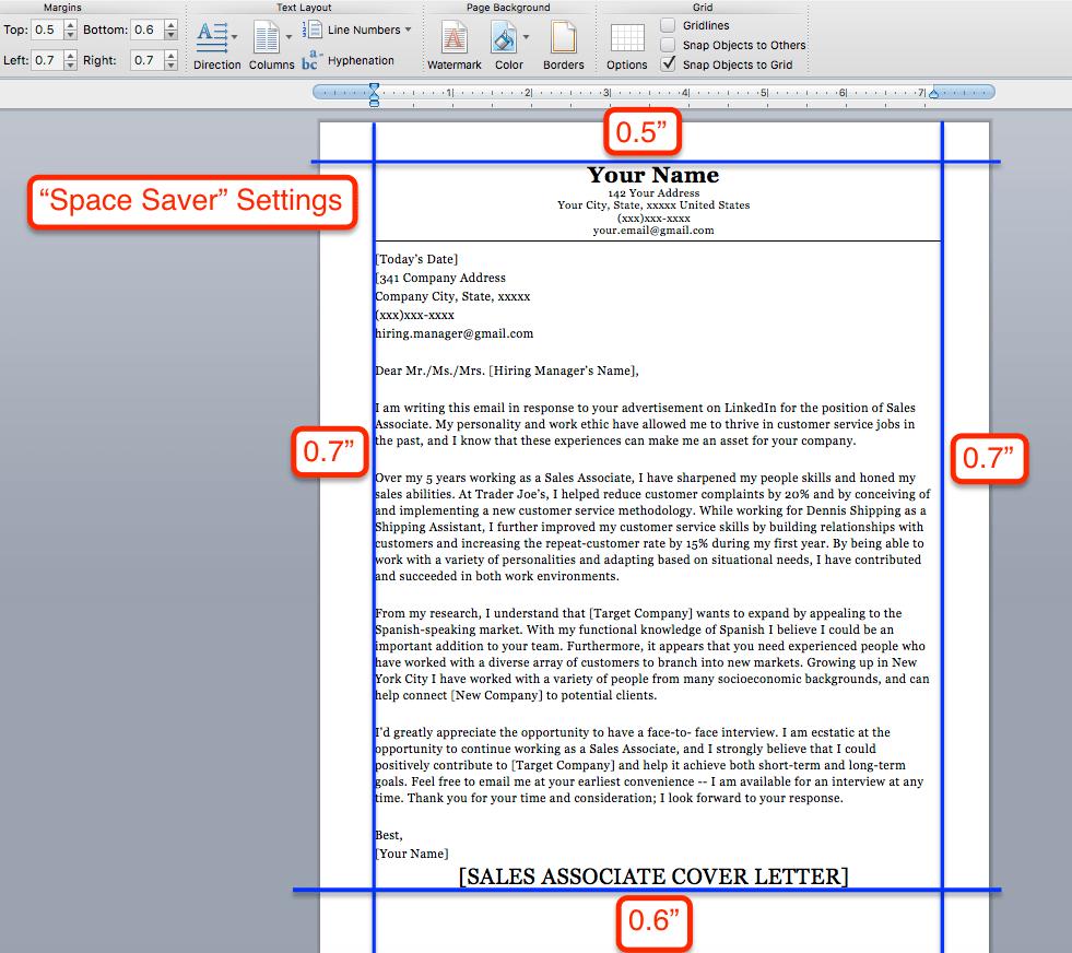 margins on a resume, resume aesthetics, font, margins and paper ...
