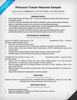 Personal Trainer Cover Letter Sample & Tips Resume Companion