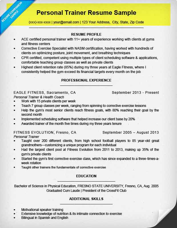 How To Write A Resume Resume Companion