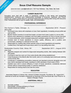 Line Cook Resume Sample & Writing Tips Resume Companion