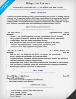 Babysitter Cover Letter Sample & Tips Resume Companion