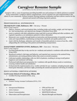 Registered Nurse RN Resume Sample  Tips  Resume Companion