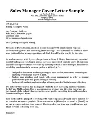 Account Executive Cover Letter  Writing Tips  Resume Companion