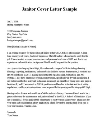 Maintenance Worker Cover Letter Sample  Resume Companion