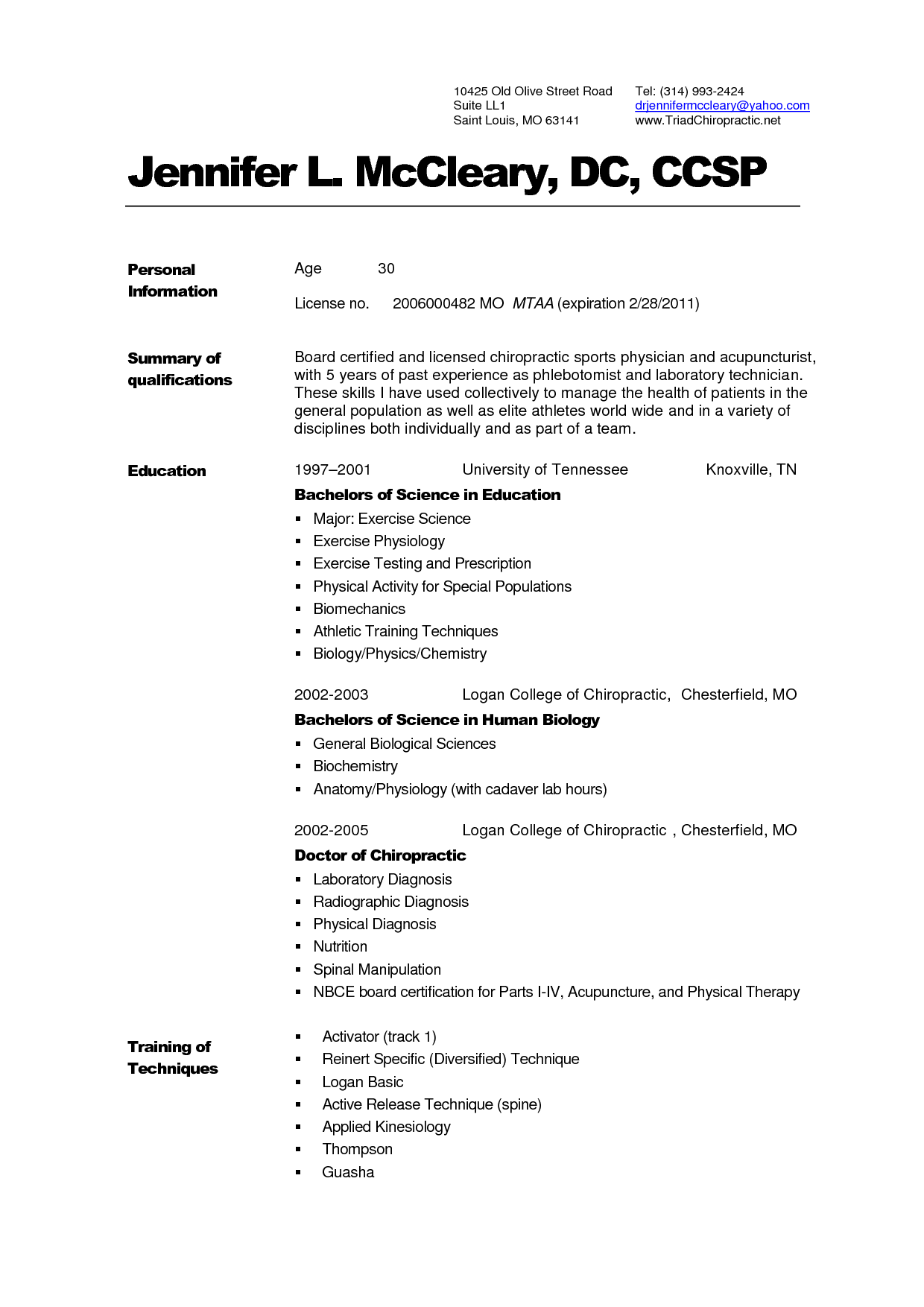 Med School Resume Examples Examples Of Resumes