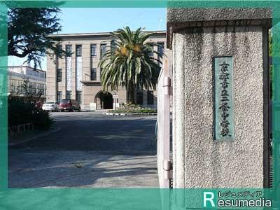 佐々木蔵之介 京都市立二条中学校