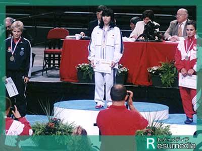 吉田沙保里 高校生 フランス国際大会 優勝