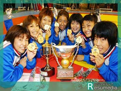 伊調馨 2002年ワールドカップ優勝時