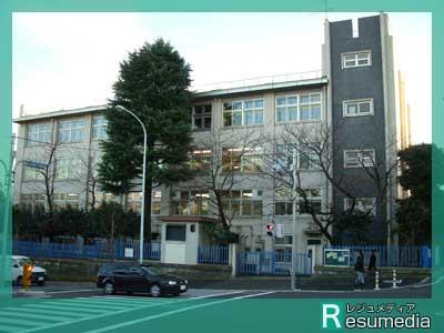 中居正広 都立代々木高等学校