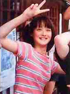 佐々木希さん 中学校 1年生の頃