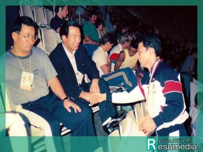 栄和人 1987世界選手権銅メダル
