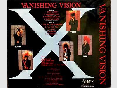 X Vanishing Vision