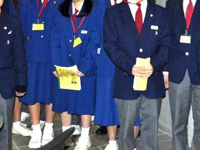 井口中学校 制服参考画像