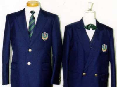 成法中学校 制服参考画像