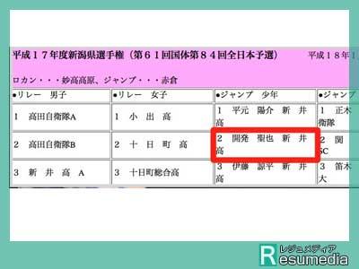 Seikin セイキン 高校 第61回国体第84回全日本予選新潟県選手権