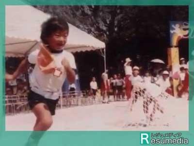 氷川きよし 保育園 運動会 障害物競走