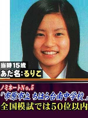 小島瑠璃子 卒アル 中学校