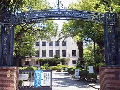 北川景子 大阪女学院