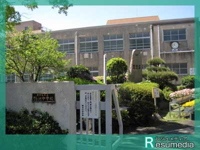 沢村一樹 鴻池中学校