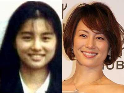 米倉涼子 昔と今