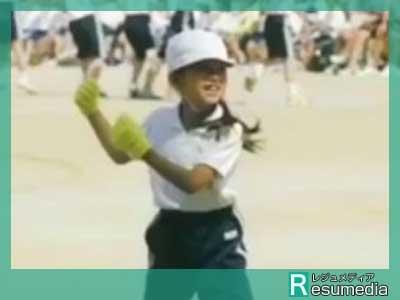 清原果耶 小学校 運動会