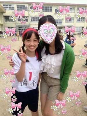 橋本環奈 中学校 運動会