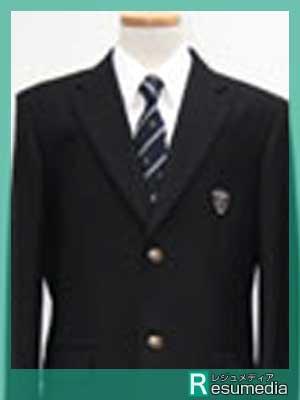 府中高校 制服参考画像