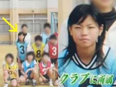 西野七瀬 小学生時代